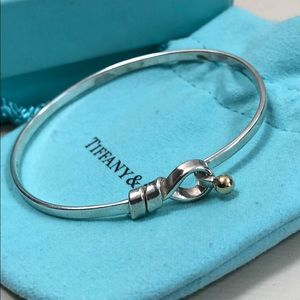 Tiffany & Co. two tone knot bracelets almost new